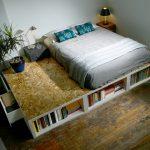1. Verhoogd bed