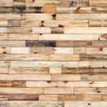 10. Plafondbekleding van pallethout