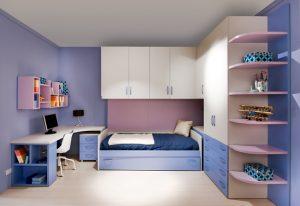 11. Kleine tienerslaapkamer