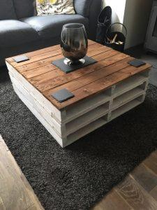 12. Nog een salontafel van palletten