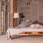 2. Bed van palletten