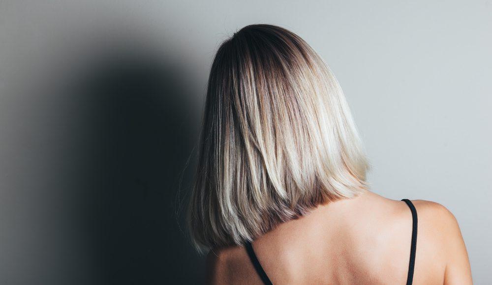 Halflang kapsel vrouwen