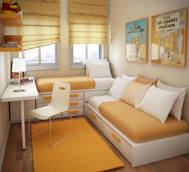 Twee persoons slaapkamer