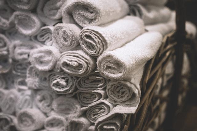 Mandjes als badkameraccessoires, bijvoorbeeld voor handdoeken: stijlvol!