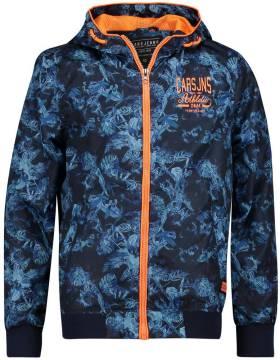 Donkerblauwe jas