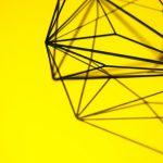 Geometrische vormen zorgen voor een actieve look in je interieur