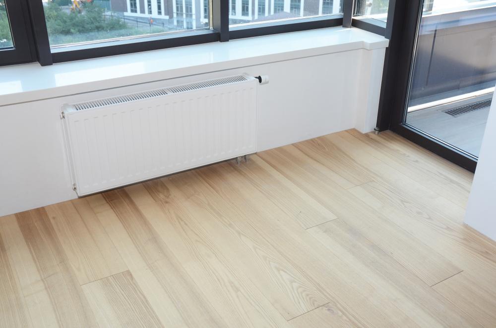 Strakke moderne radiator