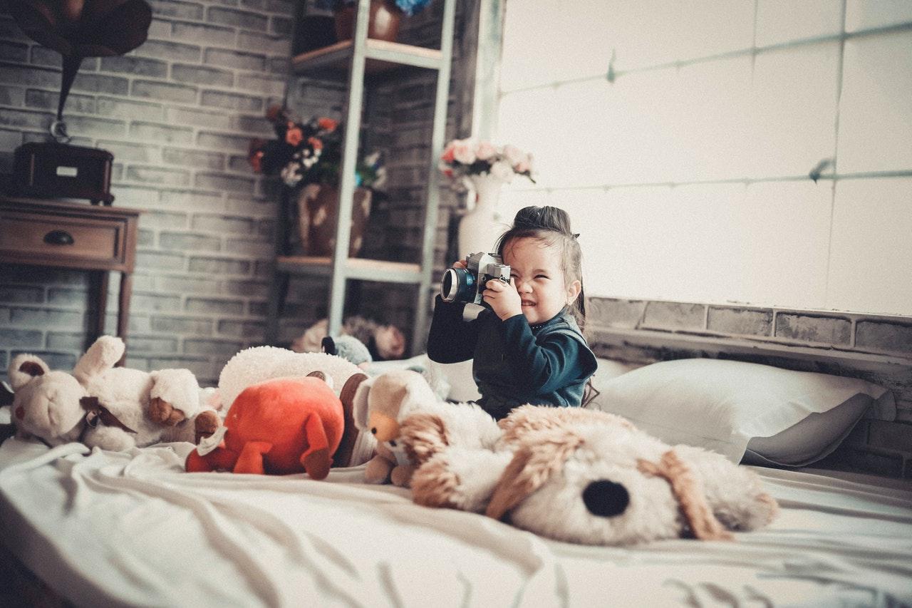 Het speelgoed mag niet ontbreken in de kinderkamer