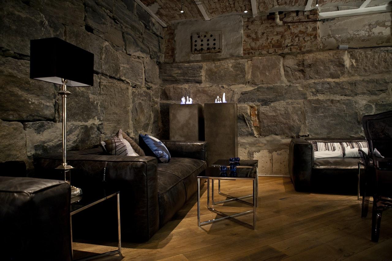 Een donker interieur: enorm sfeervol!