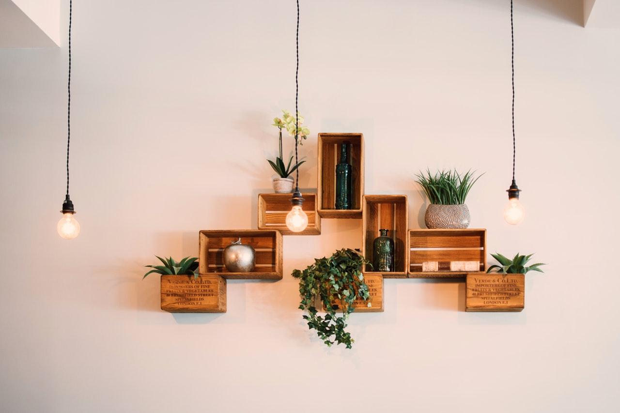 Op een rij: stijlvolle verlichting in huis