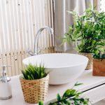 kunstplanten badkamer