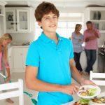tieners huishouden