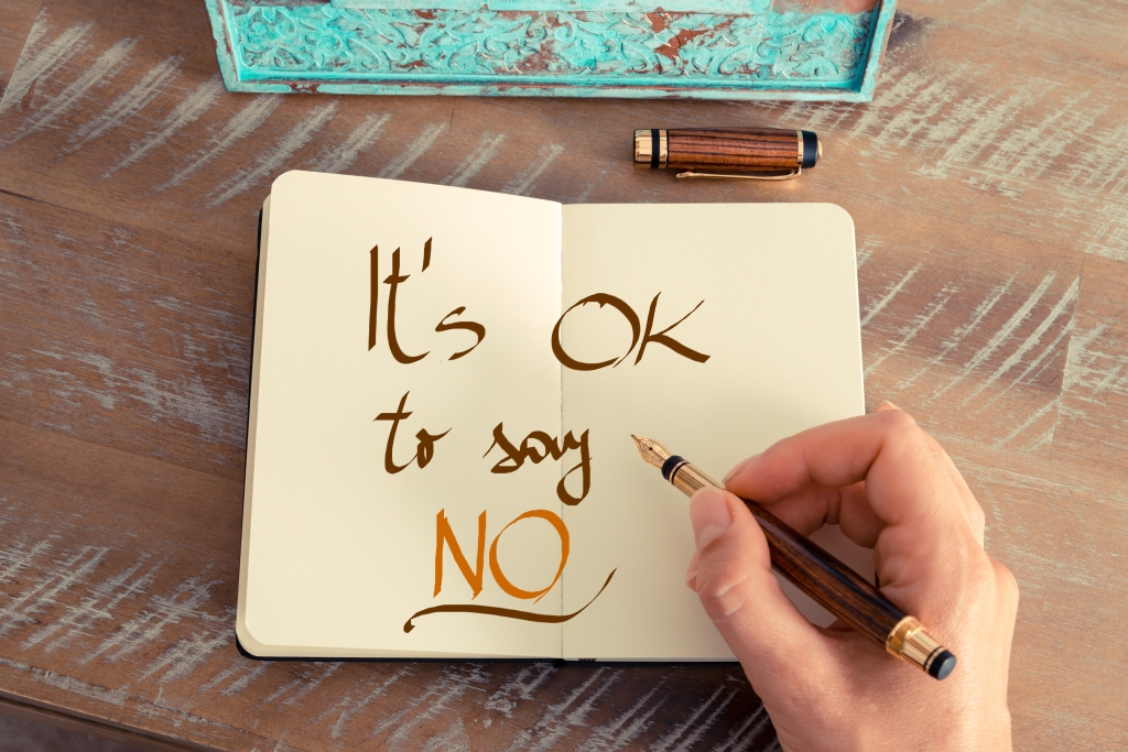 leren nee zeggen